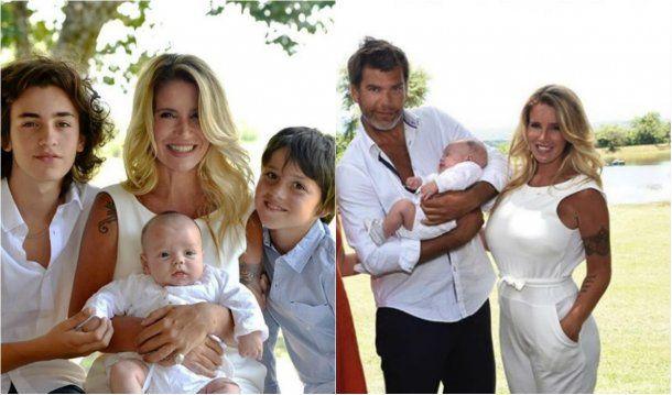 En familia: Florencia, Ramiro, Tomás, Juan y Felipe<br>