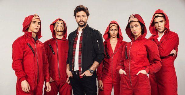La tercera temporada de La Casa de Papel