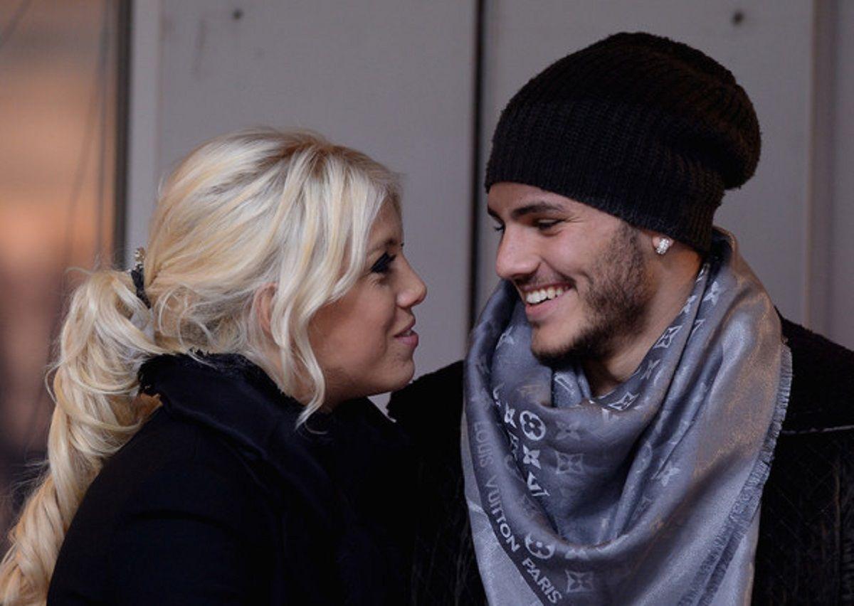 Mauro Icardi homenajó a Wanda en Instagram.
