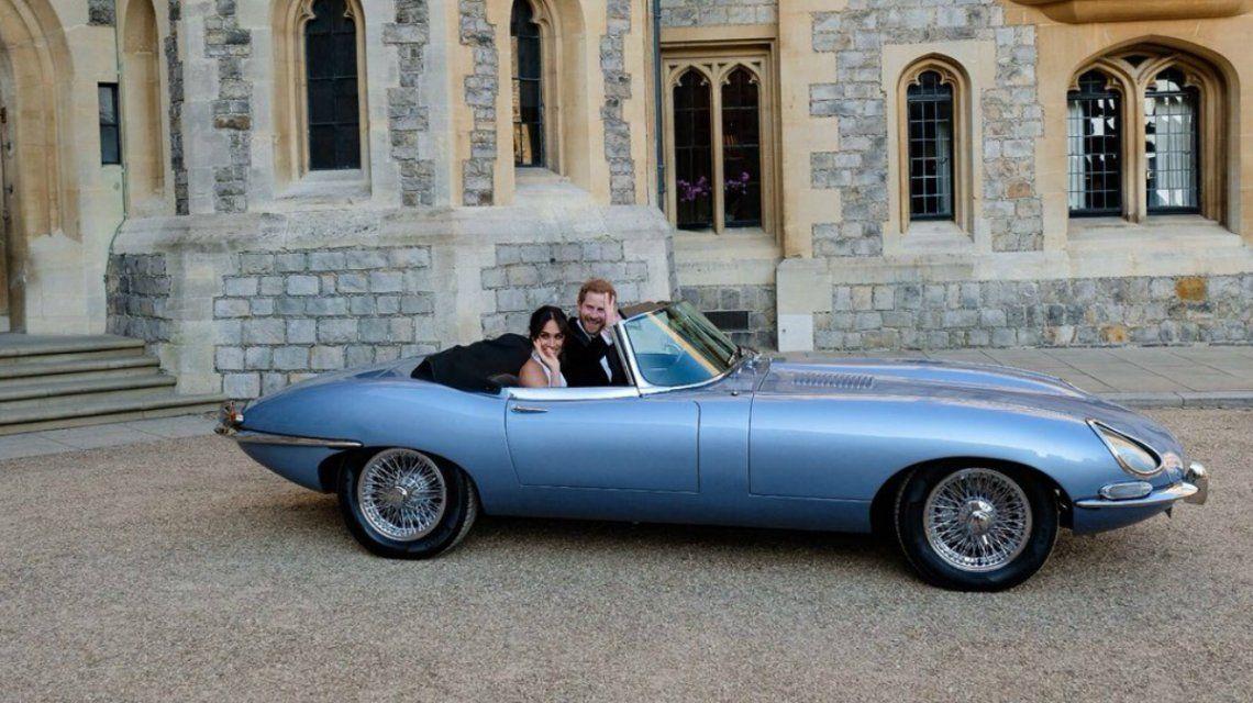 Meghan y Harry salieron del Castillo de Windsor