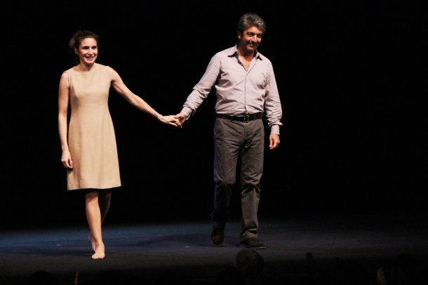 Valeria Bertuccelli y Ricardo Dar??n