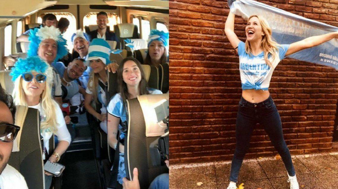 La ansiedad de los famosos argentinos por el debut mundialista