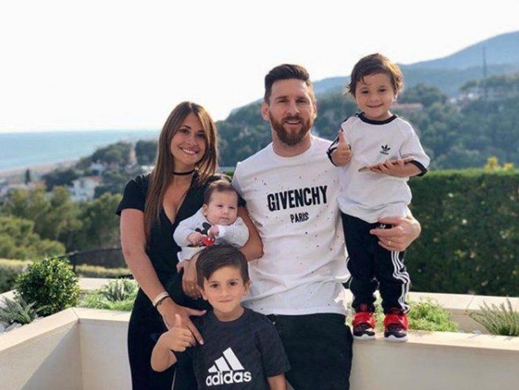 Antonela Roccuzzo y Lionel Messi - Crédito:antoroccuzzo88