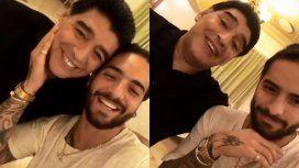 Maradona y Maluma juntos en Rusia