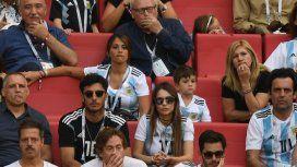 Antonela junto a Pico Mónaco, Pampita y la mamá de Lionel Messi