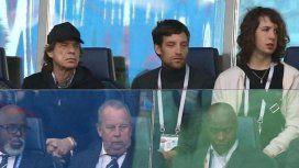 Mick Jagger, presente en el estadio Luzhnikí