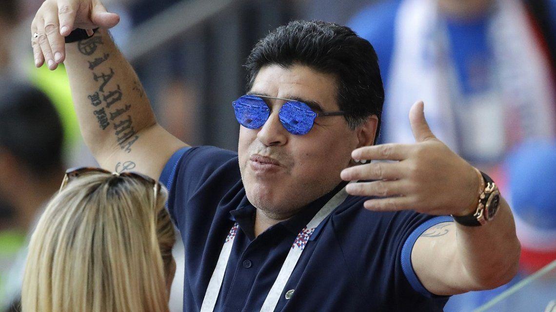 Éstos son los tres actores que interpretarán a Maradona en la serie sobre su vida