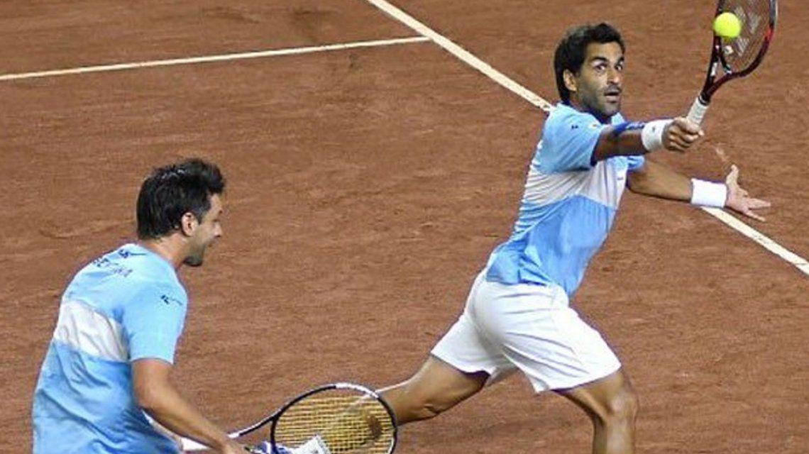 Argentina vuelve al Grupo Mundial de la Copa Davis: venció 3-0 a Colombia