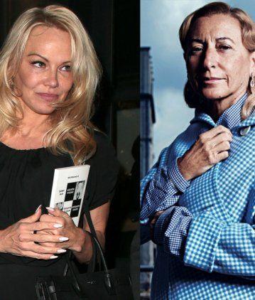 Pamela Anderson le mandó una carta a Miuccia Prada