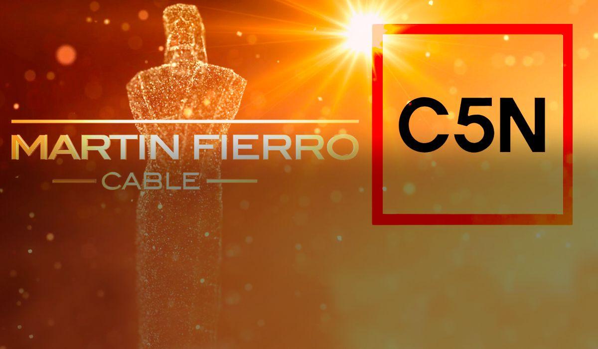 Martín Fierro de Cable: C5N obtuvo dos estatuillas