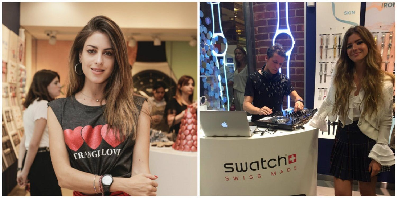 SWATCH Y ONE 103.7 JUNTOS EN EL LANZAMIENTO DE NEW GLITTER COLLECTION