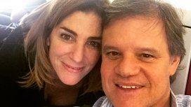 El sentido mensaje de Enrique Sacco para Débora Pérez Volpin en el día de su cumpleaños