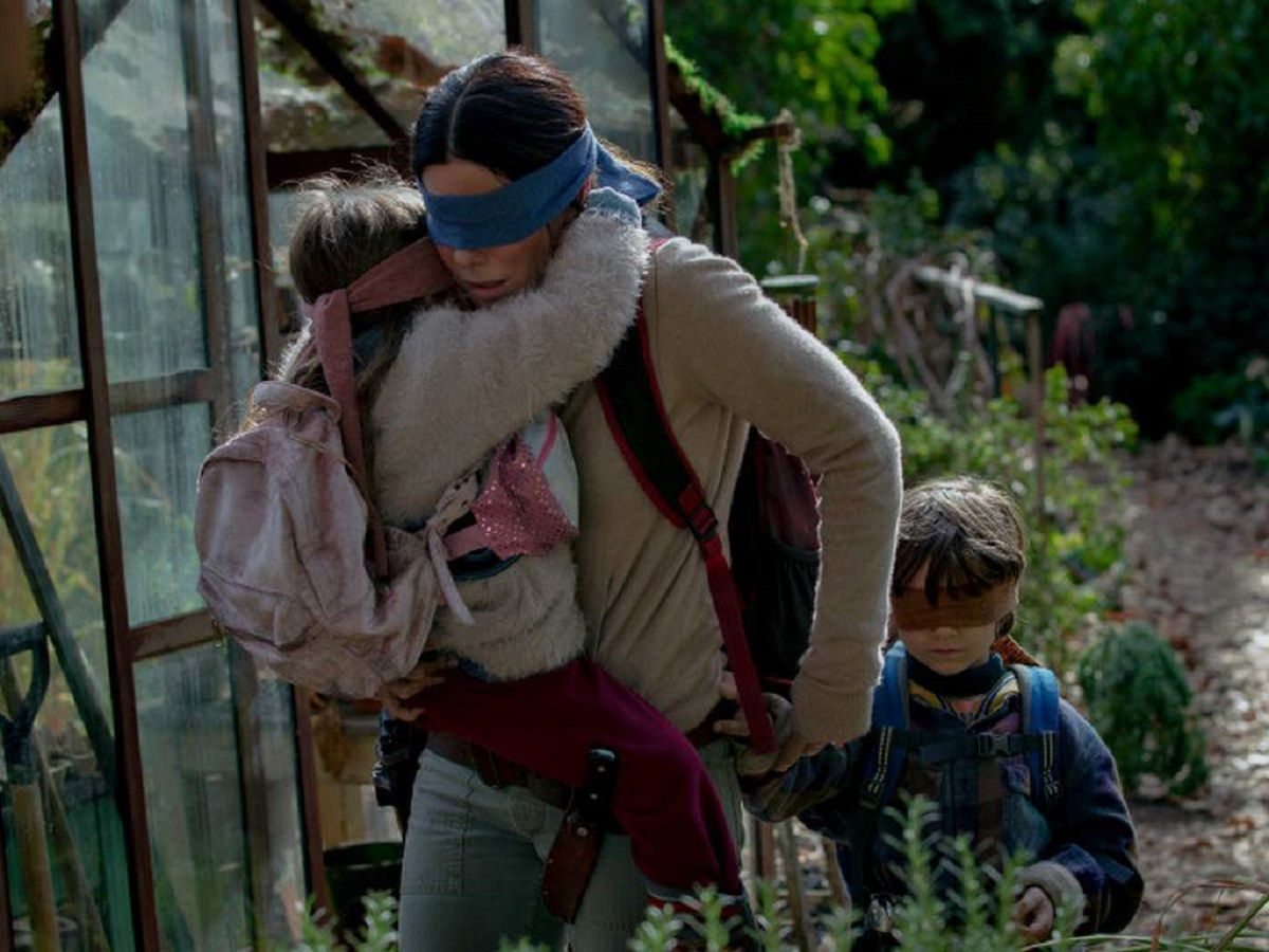 Sandra Bullock en Bird Box