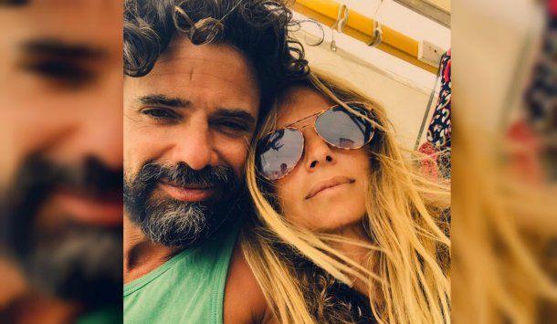 Luciano Castro publicó esta foto junto a Sabrina Rojas<br>