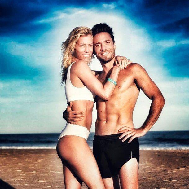 Nicole Neumann y Matías Tasín, enamorados en Punta del Este<br>