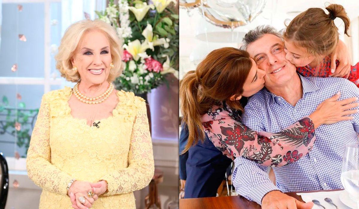 Mirtha Legrand deslizó que Macri no la invitó a su cumpleaños porque lo critica