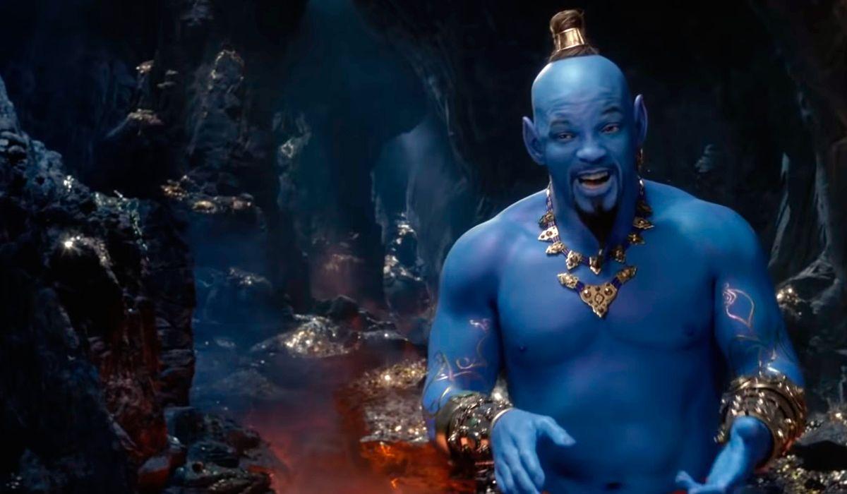 El impactante tráiler de la película de Aladdin con Will Smith como el genio