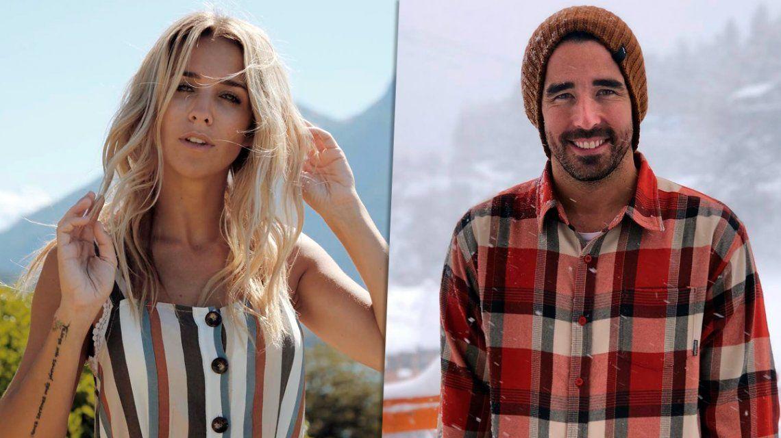 Soledad Fandiño y Nacho Viale, a los besos en una disco de Miami