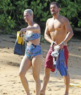 Katy Perry y Orlando Bloom se comprometieron en San Valentín: la foto del anillo de compromiso