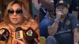 Escándalo en México: se separaron Maradona y Ojeda