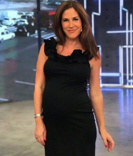 La tierna ecografía de Daniela Ballester esperando por su bebé: ¡Se mueve todo el día!