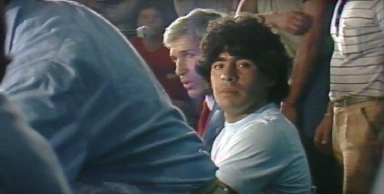 El emotivo primer tráiler del documental de Maradona