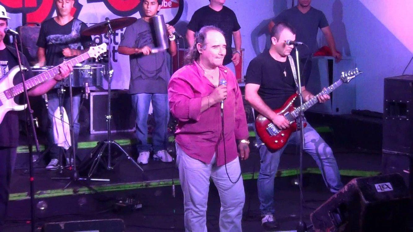 Murió el cantante de Los del fuego, Juan Carlos Banana Mascheroni
