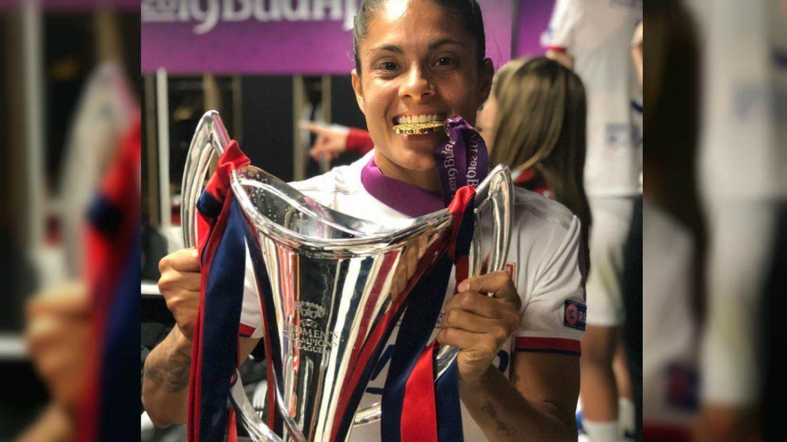 Soledad Jaimes, la primera mujer argentina en ganar la Champions: En Francia el fútbol femenino es igual al masculino