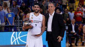 Real Madrid campeón: Facundo Campazzo es el primer argentino en ser MVP de las finales