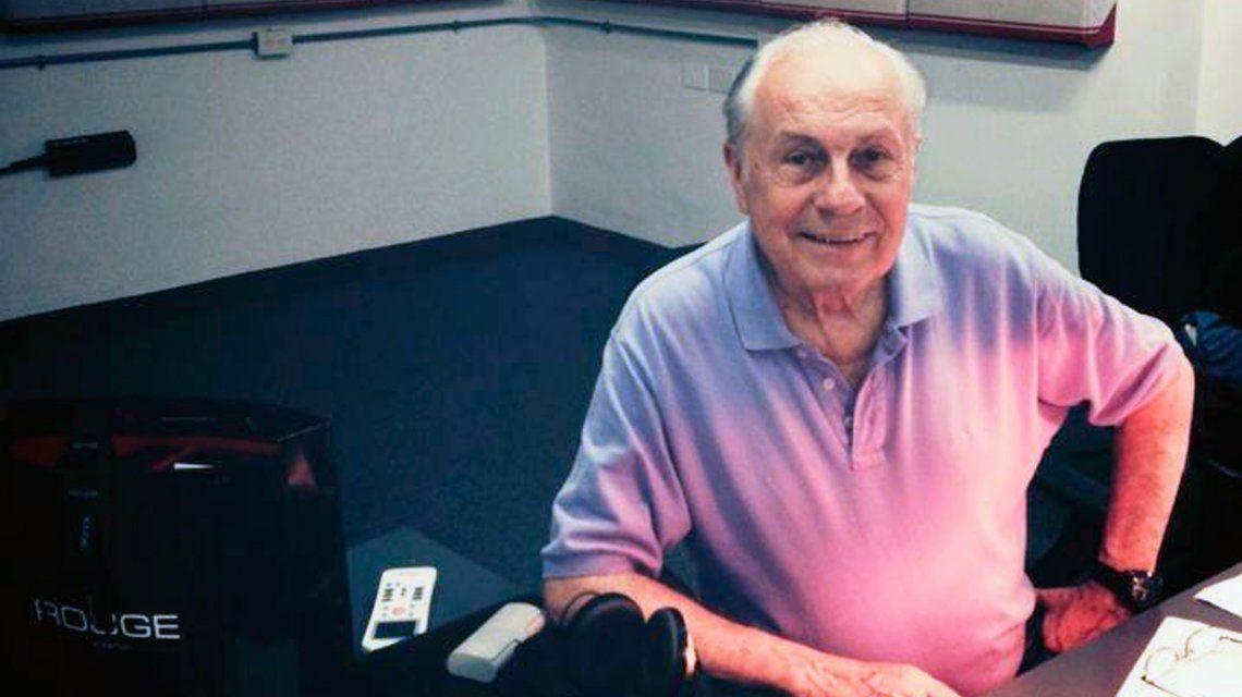 Murió el actor y locutor Edgardo Mesa