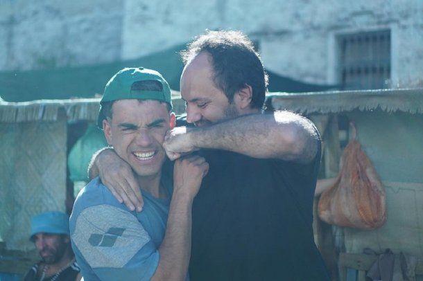 Abel Ayala y Alejandro Ciancio, director de El Marginal 3 (gentileza Cony La Greca)