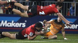 Los Jaguares no pudieron con Crusaders en la final del Super Rugby