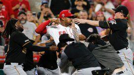 VIDEO: Batalla campal en las Grandes Ligas de Béisbol