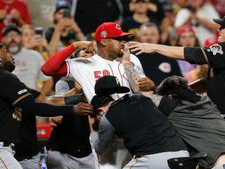 video: batalla campal en las grandes ligas de beisbol