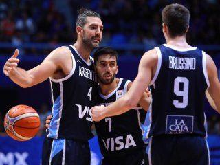 con scola y campazzo a la cabeza, la lista de argentina para el mundial de basquet