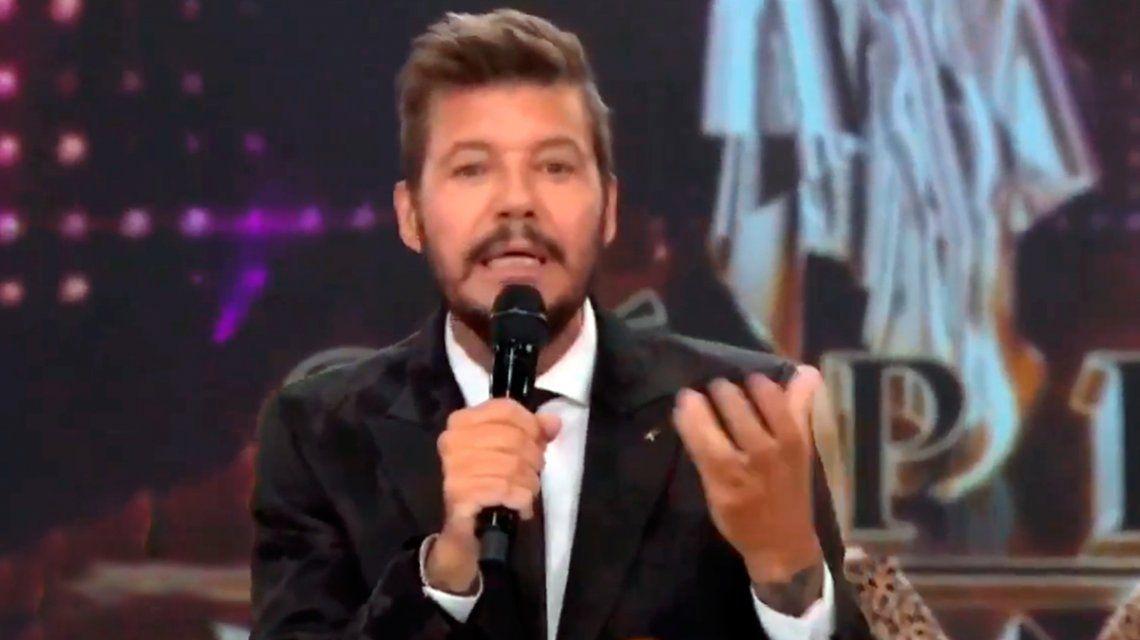 El efusivo discurso de Marcelo Tinelli tras la victoria de Alberto Fernández sobre Mauricio Macri en las PASO