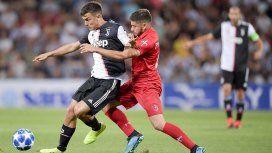 El golazo de Dybala para la Juventus