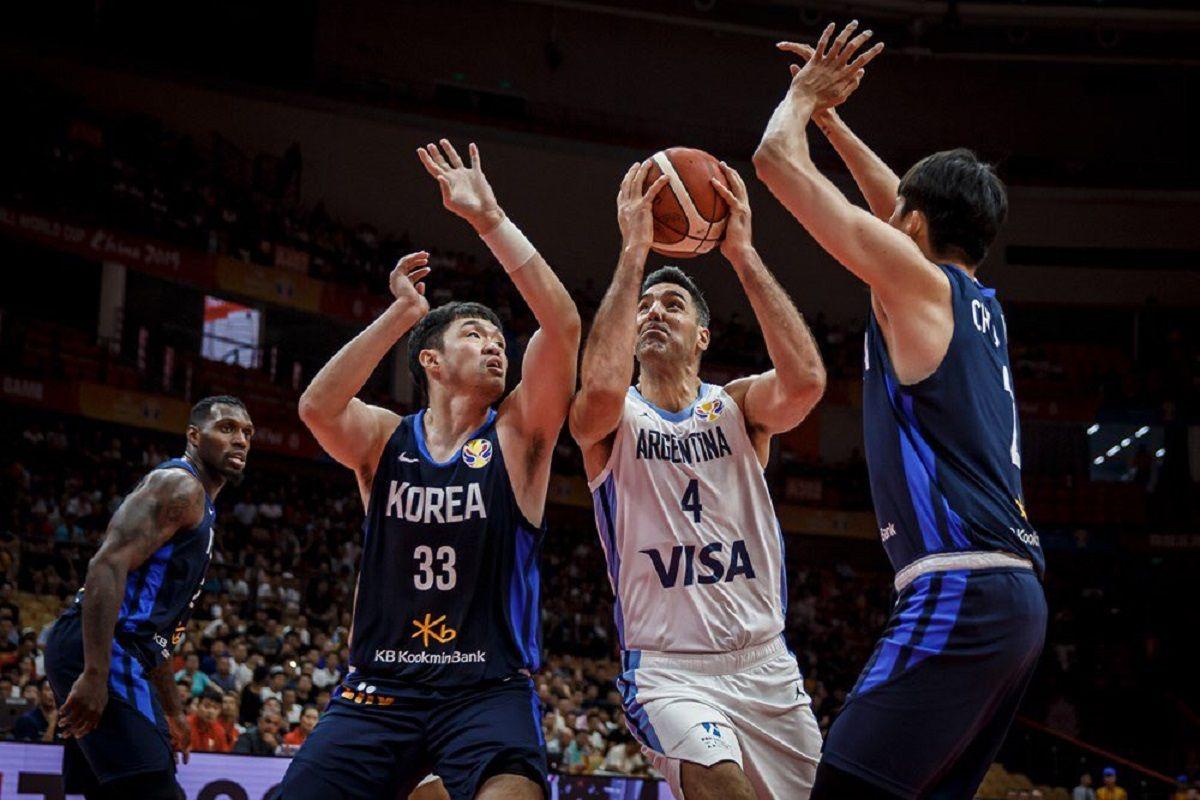 Mundial de básquet: triunfo cómodo de Argentina ante Corea del Sur en el debut