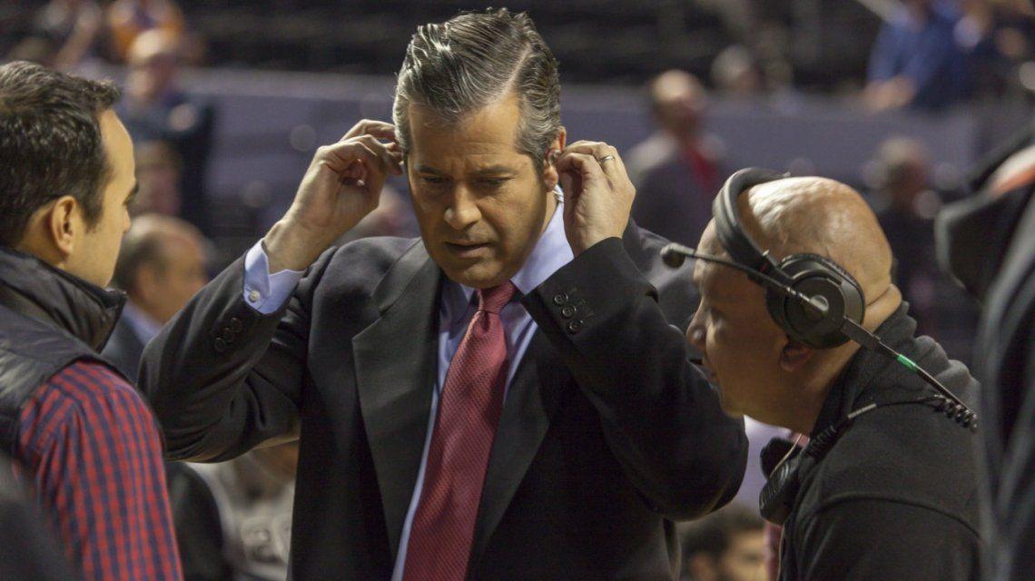 Álvaro Martín deja de relatar partidos de la NBA