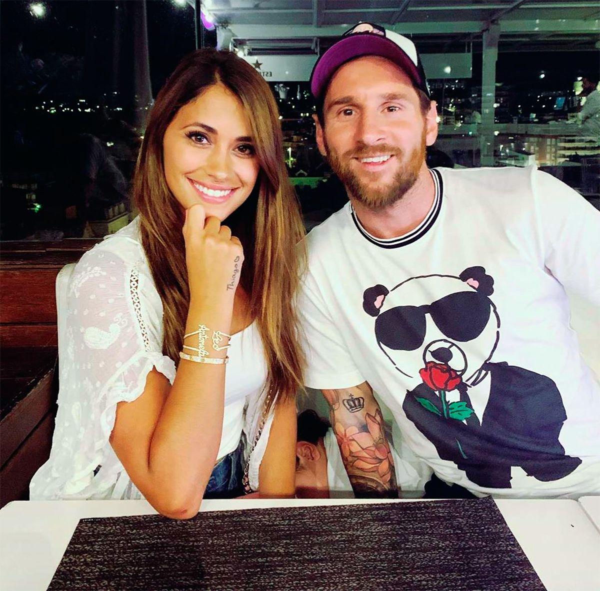 El romántico mensaje de Messi a Antonela: Es todo para mí