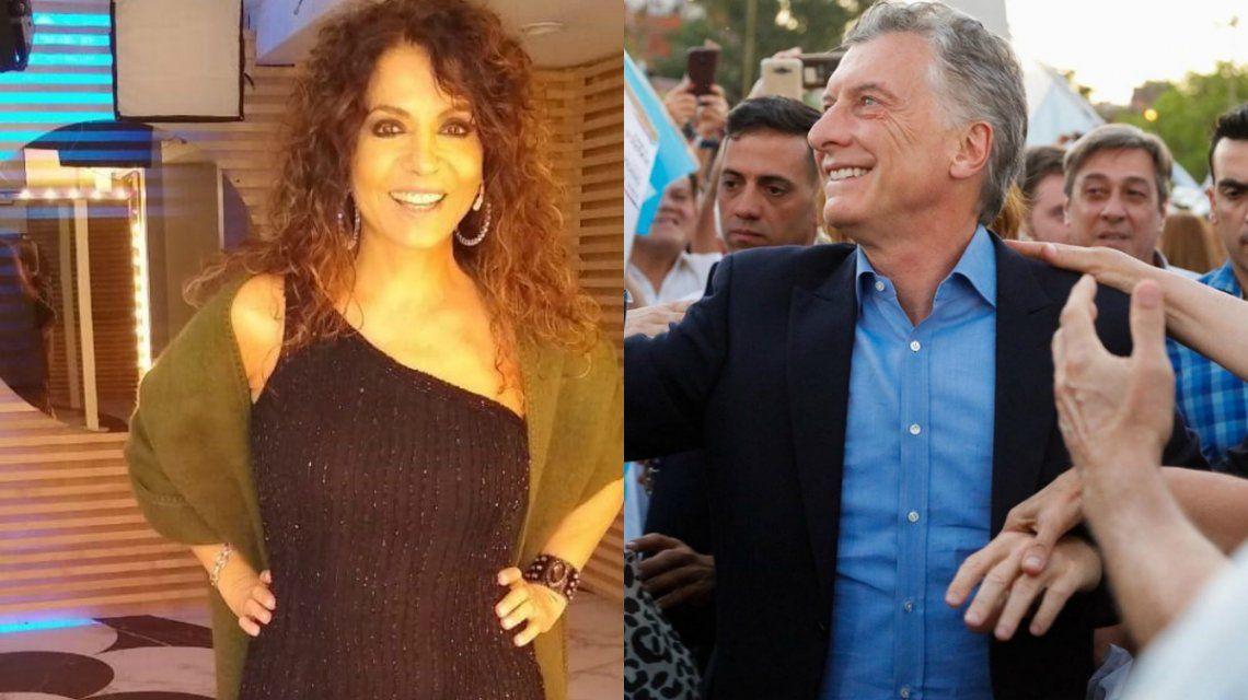 Patricia Sosa defendió al gobierno de Mauricio Macri y deslizó quedonaría la mitad de su sueldo