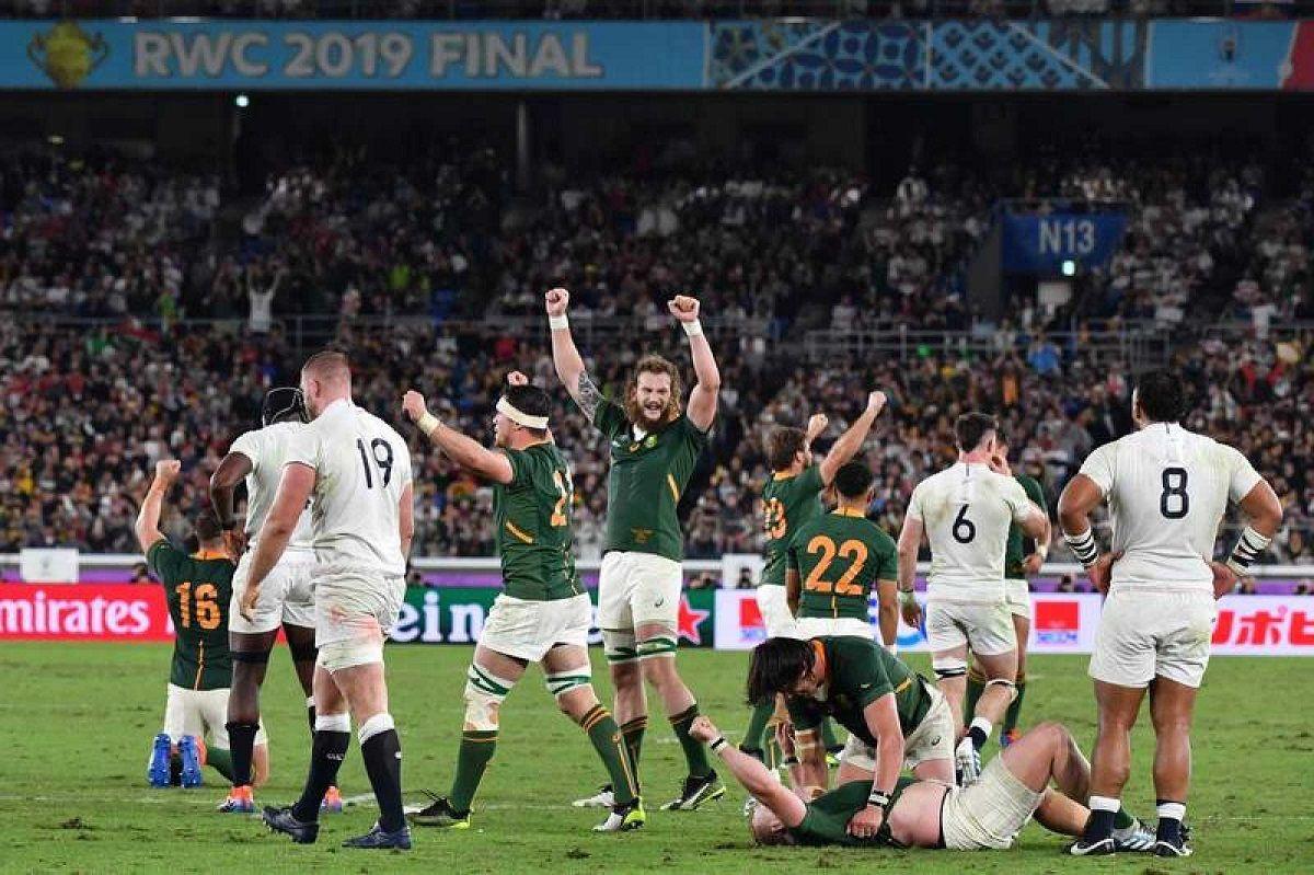 Sudáfrica aplastó a Inglaterra y ganó su tercer Mundial de Rugby