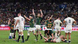 Sudáfrica tricampeón: aplastó a Inglaterra