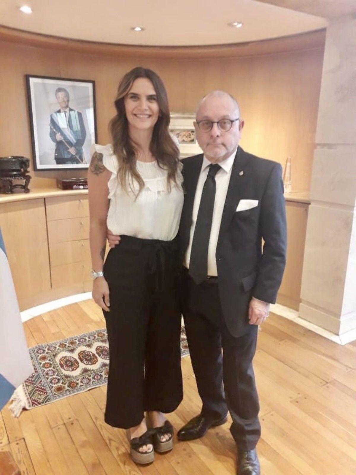 El canciller Jorge Faurie recibió a Amalia Granata