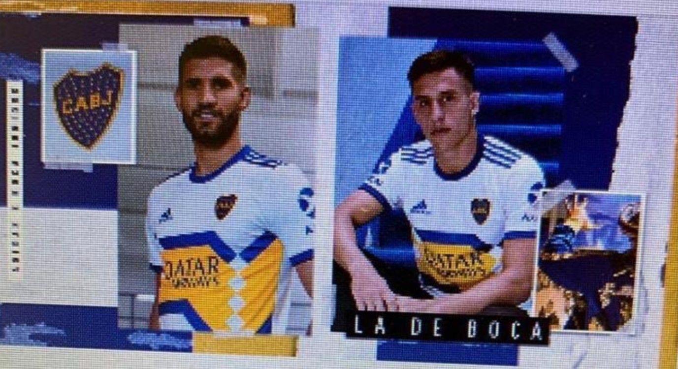 La nueva camiseta de Boca (foto Mariano Volpini)