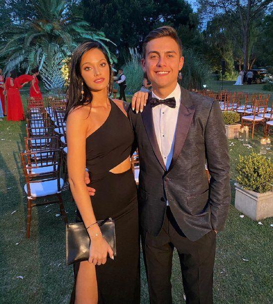 Oriana Sabatini y Paulo Dybala están en cuarentena en Italia