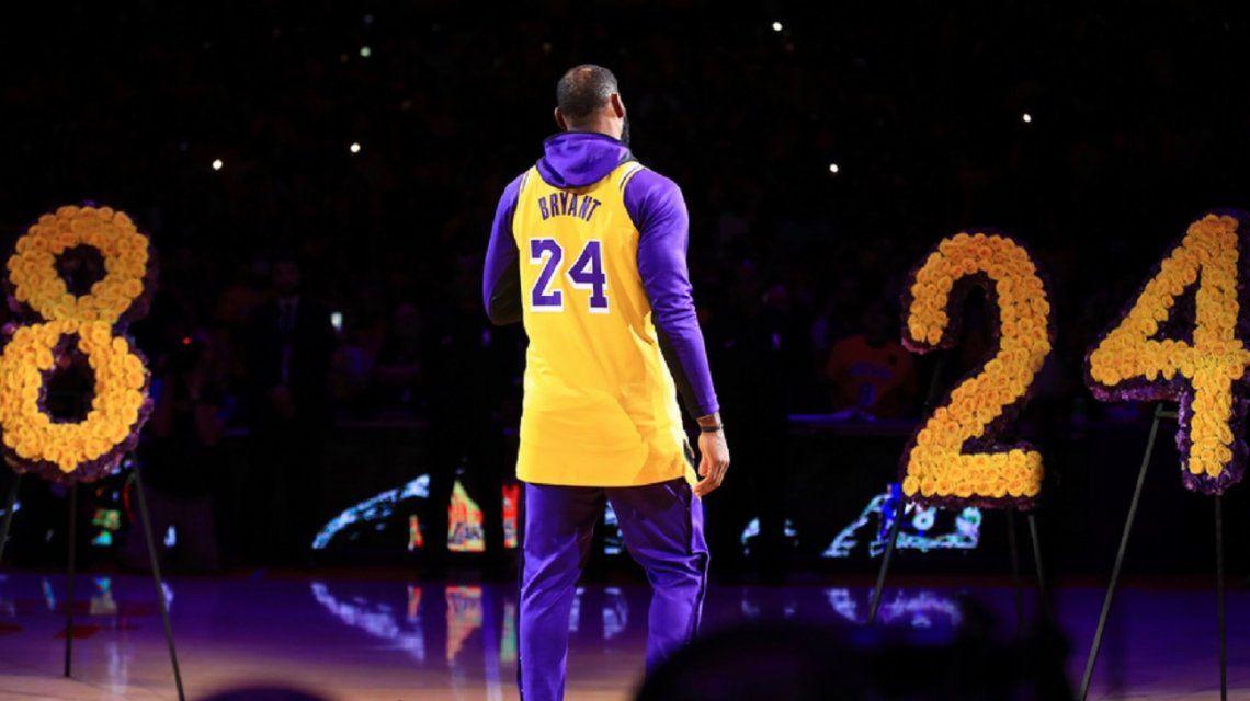 El emotivo discurso de LeBron James en el homenaje a Kobe Bryant