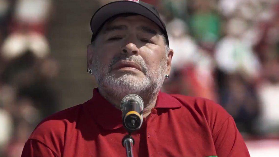 La participación de Diego Maradona en Puerta 7: La pelota sí se mancha