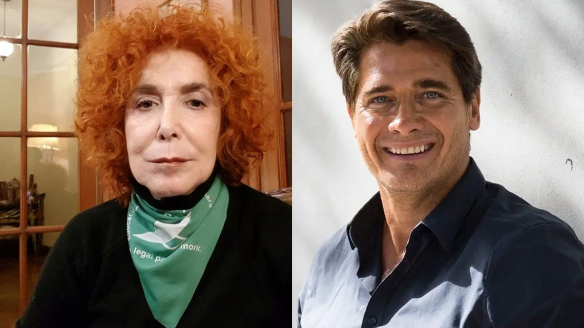 Mirta Busnelli y Guillermo Andino