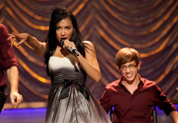 Naya Rivera en Glee.